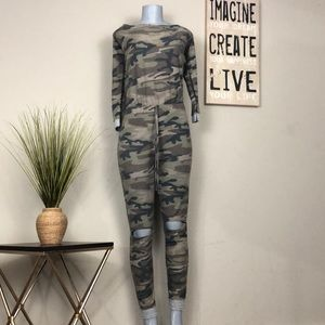 Fashion Nova Army Fatigue Jumpsuit